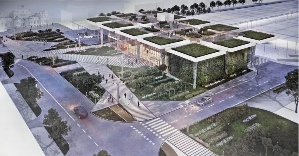 לובלין תחנה מרכזית: תכנון משולב